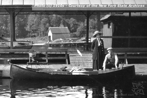 Covered Launch 1910s - Photo on Backinthesameboat.com