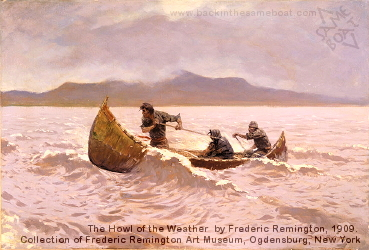 The Howl of the Weather by Frederic Remington