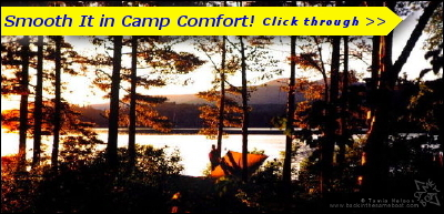 Sunset in Camp Comfort - (c) Tamia Nelson Image on Backinthesameboat.com