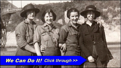 Women on an Outdoor Adventure - 1921 - Image on Backinthesameboat.com