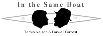 Tamia Nelson & Farwell Forrest are In the Same Boat - (c) Tamia Nelson/Verloren Hoop Productions